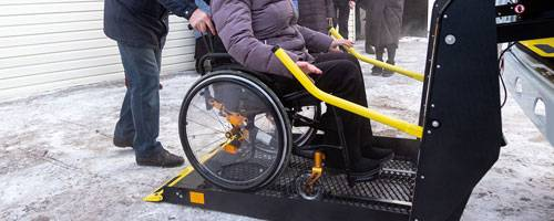 wav car wheelchair lift